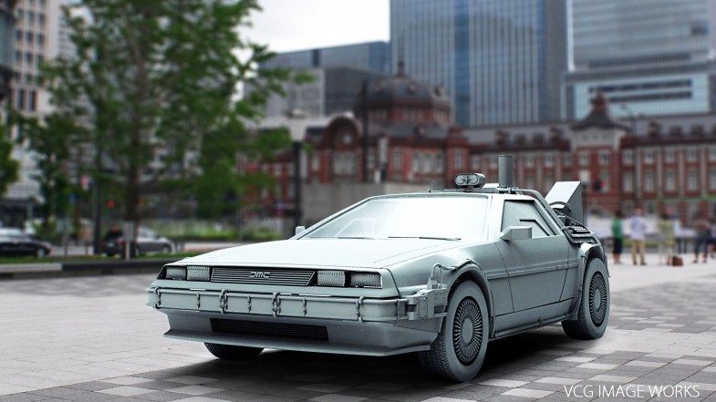Delorean_IBL_Model