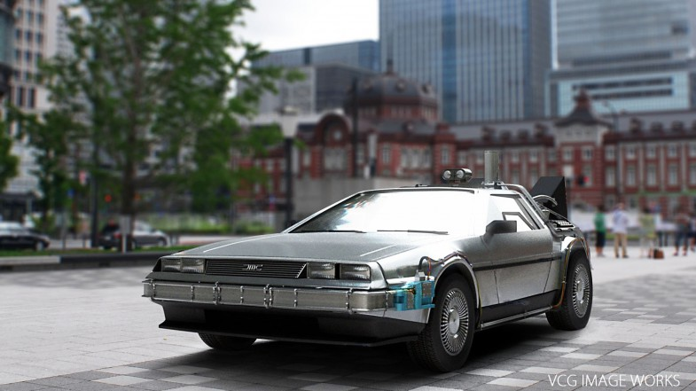 Delorean_IBL_Shading
